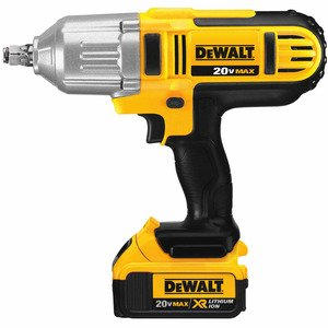 "DEWALT DCF889HM2 20V MAX* 1/2"" High Torque Impact Wrench Kit"
