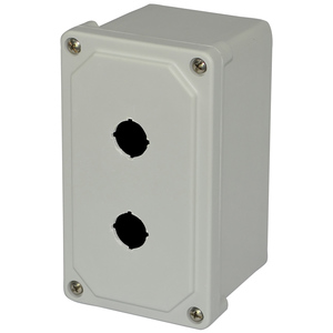 Allied Moulded AM2PB22 22mm Enclosure, 2 Element, Polyester, E34