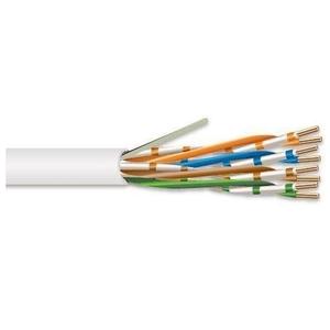 Tyco Electronics TE620P-WTRB 620 Series CMP CAT 6 UTP Cable, White, 1000'