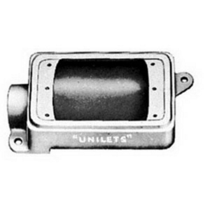 Appleton FD-1-50L-A 1-gang 1/2 Fdc Unilet W/lug