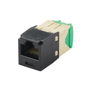 Panduit CJT688TGBL Mini-Com Module, Cat 6, 28/30 AWG, UTP,