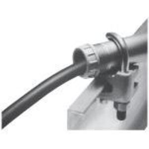 "Cooper Crouse-Hinds LCC5 Cable Tray Clamp Assembly, Use with Outside Rail Rray, 1-1/2"", Cast Iron"