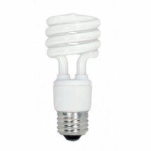 Satco S6236 13 WATT SPIRAL4100K CFL MED. BASE 4 PACK. SOLD IN 4 PACK