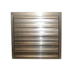 TPI CES12G 12 In Wall Shutter