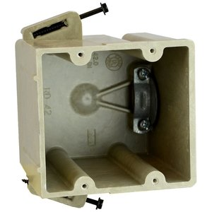 Allied Moulded RD-42SS Range/dryer electrical box for use with nonmetallic sheathed cable