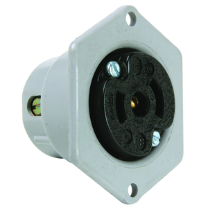 Pass & Seymour ML214 MIDGET LOCK FL OUT 2P3W 15A125V