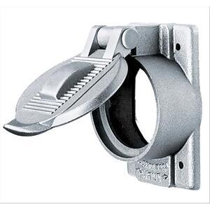 Hubbell-Bryant 7770 W/proof Cvr, 50a Lkg, Alu