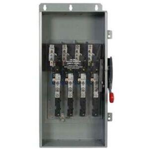 Eaton DCU1103UPM Disconnect Switch, Ungrounded, 100A, 600VDC, 3P, Non-Fusible, NEMA 4