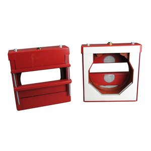 """Wiremold FS4R-RED Fire Stop Thru-Wall/Floor Fitting, 4"""" EMT, Red"""