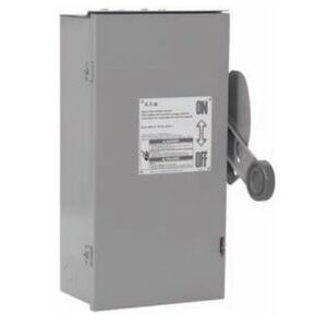 Eaton DT467UGK Safety Switch, 800A, 4P, 600VAC/250VDC, HD, Double Throw, NEMA 1