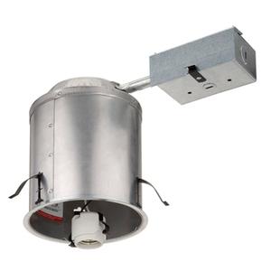 "Lithonia Lighting L3RR6 4"" IC/Non-IC Housing, Air-Tite"