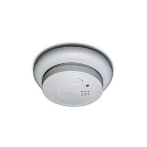Universal Security Instruments USI-1209 Smoke Alarm, 120VAC, 9V Battery Back-Up, White, Non-Metallic