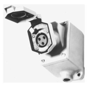 Cooper Crouse-Hinds CPS152201 20A 2W3P ARK DEL DE SGL GNG RCP ASSY 3/4