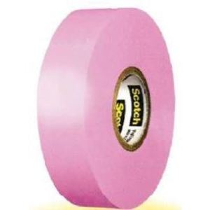 "3M 35-PINK-3/4INX66FT Color Coding Electrical Tape, 35 Pink 3/4"" X 66'"