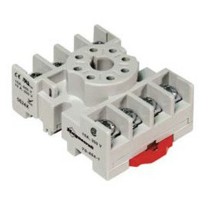 SE Relays 70-464-1 Mounting Socket, 8 Pin, Screw Terminals, DIN Rail Mount