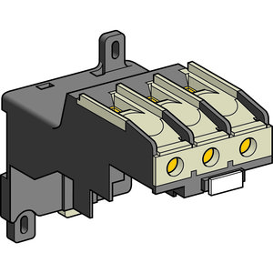 Square D LA7D3064 Overload Relay, Separate Mounting Blocks, DIN Rail Mount, for LRD3