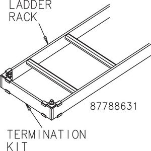 Hoffman LRTK18B 18in Termination Kit Blk