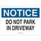 25826 TRAFFIC SIGN: INDUSTRIAL