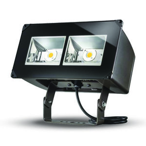 Lumark NFFLD-A40-T Flood Light, LED, 129W, 120-277V, Carbon Bronze