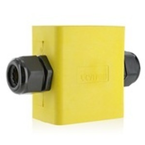 Leviton 3099F-2Y Portable Outlet Box, Yellow