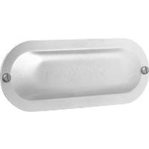 "Hubbell-Killark 680S 2"" Stamp Steel Form 8 Conduit Cover"