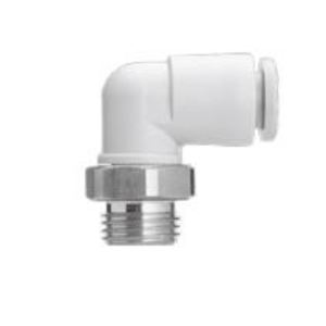 SMC KQ2L13-37AS MALE ELBOW 1/2IN THRD CONN 1/2IN APPL TUBING INLET