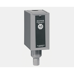 Allen-Bradley 836-A2 Pressure Switch, Open Style, 6-140 PSI Range, Copper Alloy Bellows
