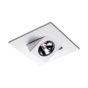 "WAC Lighting HR-D416-WT Adjustable Trim, 4"", White"