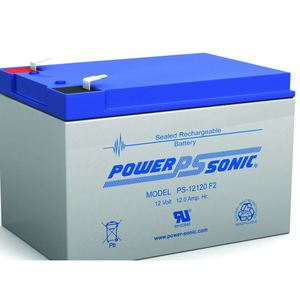 Power-Sonic PS12120 12V 12.0 AMP HOUR *** Discontinued ***