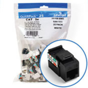 5G108-BE5 EB CAT5E SNAPIN JACK 1 = 25