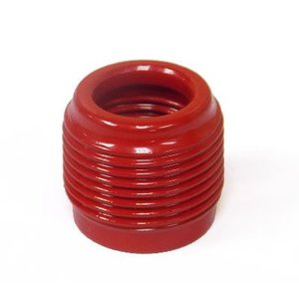 "Plasti-Bond PRRE53 Reducing Bushing, Size: 1-1/2"" x 1"", PVC Coated"