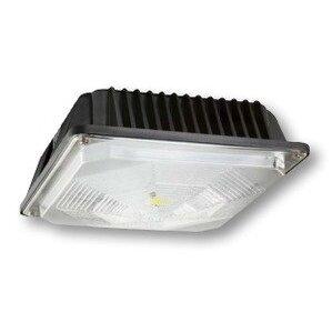 Cree Lighting C-CP-A-SQ-49L-50K-DB LED Canopy, 120-277V, 4900L, 5000K, Dark Bronze