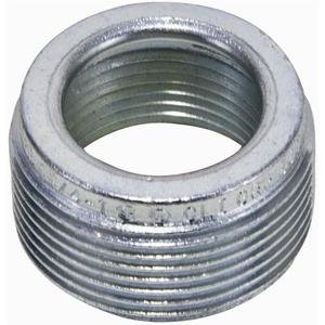 "Cooper Crouse-Hinds RE32 Reducing Bushing, 1"" x 3/4"", Threaded, Steel, For Rigid/IMC Conduit"