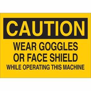 22600 MACHINE & OPERATIONAL SIGN