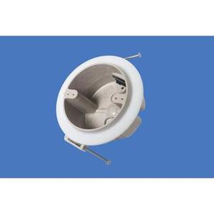 """Allied Moulded 9351-NKV 4"""" Round Ceiling/Fixture Box, Depth: 2-7/16"""", Nail-On, Non-Metallic"""