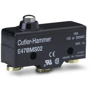 Eaton E47BMS02 Limit Switch, Compact Precision, Plunger