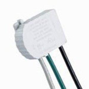 Leviton MSTWL-SDA Wiring Module for Lev-Lok, 2-Pole Right Angle, 20A, White