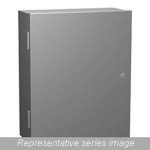 Hammond Mfg N1A483612 NEMA 1 Enclosure W/panel - 48 X 36 X 12 - Steel/gray