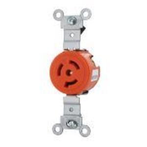 Leviton 4560-IG #1cd/lock Fl Rcpt/ig