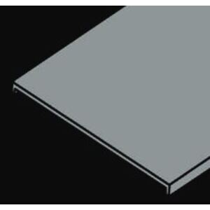 """Husky CA1F-36-120 Cable Tray Flange Cover, 36"""" Wide x 10' Long, Aluminum"""