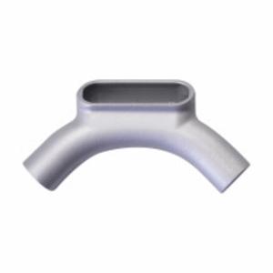 "Cooper Crouse-Hinds U27SA Conduit Body, Type U, 3/4"", Form 7, Iron Alloy"