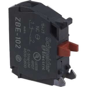 ZBE102 1 NC CONTACTS FOR ZB4 STYLE