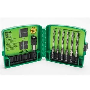 Greenlee LDTAPKIT Long Drill/Tap Kit