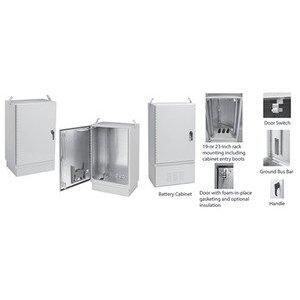 nVent Hoffman T503044FTTXDAB FTTX Fiber Optic Cabinet, 4X, 60x30x51