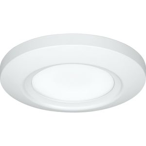 "Progress Lighting P810027-028-30 LED Flush Mount, 11.5 Watt, 782 Lumen, 3000K, 120V, 5.5"" Dia"