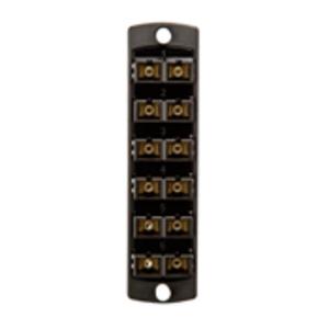 5F100-2EC BLK OPTX 6PK DPLX SC OM3