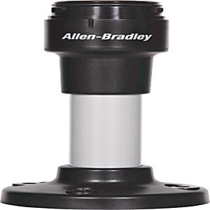 Allen-Bradley 854J-BPM10C Control Tower Stack Light Mounting Base, Pole Mount, 40MM, Black