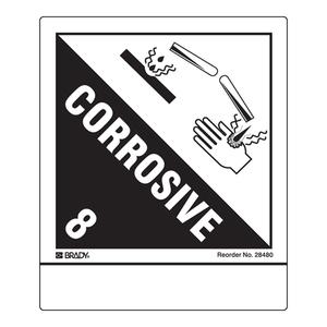 28480LS B-235 4X4.75 100/PK CORROSIVE LB