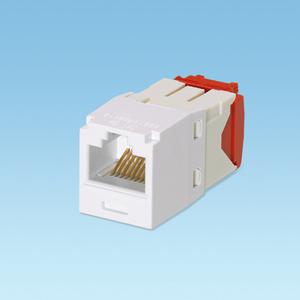 Panduit CJ5E88TGWH Snap-In Connector, Cat 5e+, Mini-Com, TX5e, UTP, White