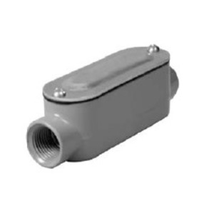 "Hubbell-Raco RLC200 Conduit Body, Type: LC, ""R"" Series, Size: 2"", Die Cast Aluminum"